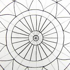 how to draw a mandala using grids create mixed media