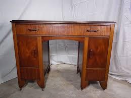 Office Desk Walnut Antique Deco Walnut Office Desk Vanity 1930 S Deco2modern
