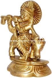 God Statue Krishan Hindu God Statue Indian Handicrafts Art