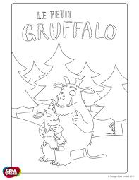 Fun French Worksheets Coloriage Le Petit Gruffalo Julia Donaldson Pinterest