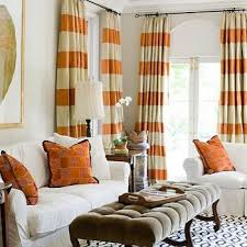 Curtain Color For Orange Walls Inspiration Orange Curtains Cortinas Pinterest Orange Curtains Curtain