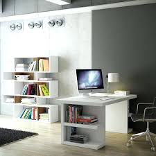 office desk with bookshelf white desk with bookshelf amicicafe co