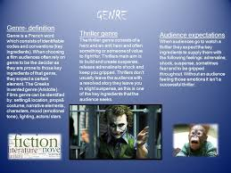 fantasy film genre conventions genre genre definition genre is a french word which consists of