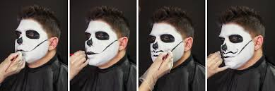 Halloween Skeleton Faces by Male Sugar Skull Makeup Tutorial Wholesale Halloween Costumes Blog