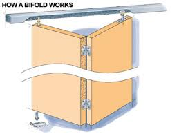 how to make bifold cabinet doors bifold cabinet door hardware track cabinet doors
