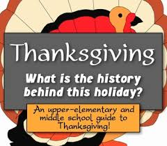 thanksgiving history what is the history the thanksgiving