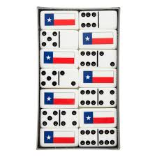 Texas Flag Decor Texas Flag Dominos Texas Capitol Gift Shop