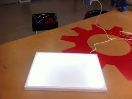 Diy Led Desk Lamp by Inexpensive Diy Led Lightbox For Tracing 9 Steps With Pictures