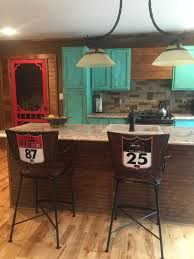 Western Kitchen Ideas Hilley Homestead Turquoise Kitchen Cabinets Turquoise Kitchen
