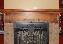 intriguing fireplace mantel ideas for the impressive rainy season