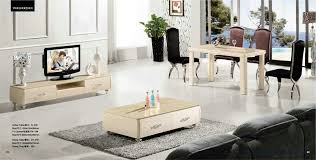 matching tv stand and coffee table beige color coffee tabletv standdinning table set free shippi inside