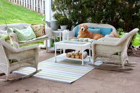 Bistro Sets Outdoor Patio Furniture Patio Outdoor Wicker Furniture With Sunbrella Cushions Rattan