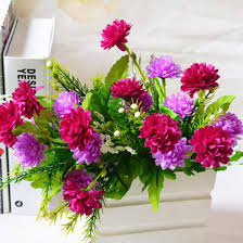 bouquet diy great artificial carnations flowers 5 branches 10 flowers bouquet