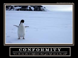 motivational posters conformity penguins the how i met your