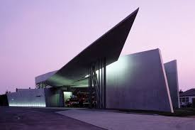 www architect com vitra fire station in germany by zaha hadid architects buildings