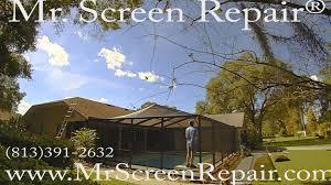 rescreen pool enclosure w 8