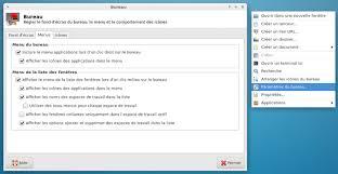 afficher les icones du bureau 6 configuration de l environnement documentation dflinux