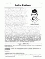 baseball teaching resources baseball biographies lesson plans