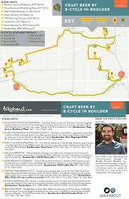 Seattle Brewery Map by Craft Beer By B Cycle In Boulder U2014 Bikabout