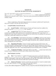Example Of A 30 Day Notice Missouri Rent And Lease Template Free Templates In Pdf Word