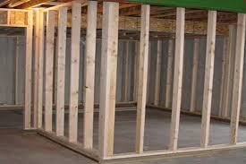 Framing Exterior Door Basement Framing Exterior Walls With Framing Basement Egress