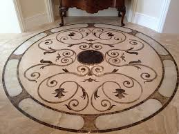 floors decor and more custom marble medallions and floor decor residential it looks
