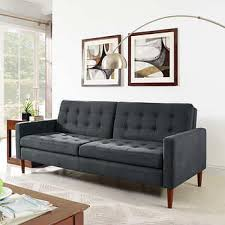 Gray Sofa Bed with Euro Loungers Costco