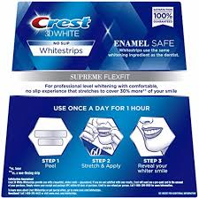 crest supreme whitening strips crest 3d whitestrips supreme flexfit crest whitestrips ireland