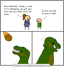 Dinosaurs Meme - is that why the dinosaurs died t rex s short arms know your meme