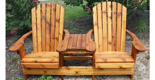 custom built adirondack furniture by chw outdoors lexington sc