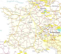 Germany Rail Map by Germany Map Map Of And Surrounding Countries Prepossessing Map