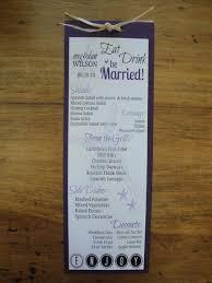 Diy Wedding Menu Cards Diy Menu Cards For Wedding Do It Your Self
