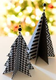 craft idea paper trees