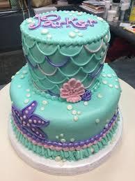 mermaid birthday cake adrienne co bakery girl