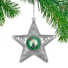 boston celtics silver ornament nba store