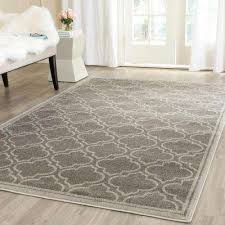 8 X 10 Outdoor Rug 8 X 10 Rectangle Trellis Outdoor Rugs Rugs The Home Depot