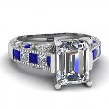sapphire emerald cut engagement rings jewels engagement ring ring blue sapphire ring emerald