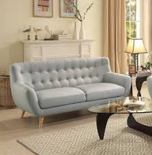 grey tufted sofa furniture interesting living room with upholstered light grey