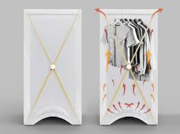 Electric Clothes Dryer Rack The