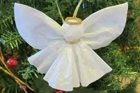 Angel Decoration For Christmas by Angel Ornament Craft Christmas Celebrations
