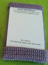 Momo Business Cards Crochet Dynamite Business Cards