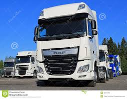 paccar trucks daf xf euro 6 truck on a yard editorial stock image image 42321169