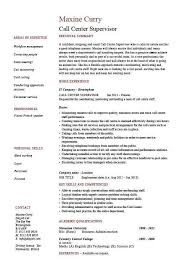 call center resume samples unforgettable call center