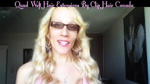 hair extension canada weft hair extensions by clip hair canada