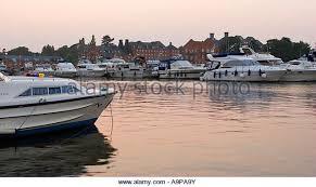 Southern Comfort Norfolk Norfolk Broads Boat Evening Stock Photos U0026 Norfolk Broads Boat