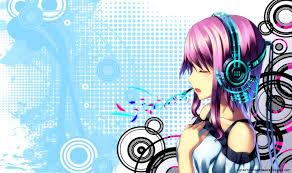 anime music girl wallpaper anime music girl wallpaper hd 21396 baltana