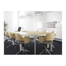 Ikea Meeting Table Bekant Conference Table Black Brown Black Conference Chairs