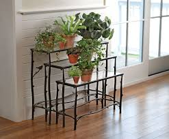 outdoor planters plant stands touch of class zaria stand tuscan