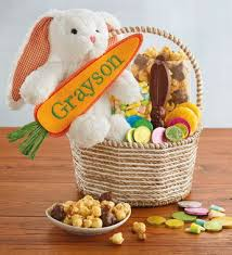 easter bunny baskets easter bunny gift basket
