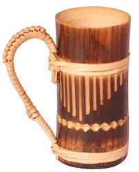 handmade home decor items mug tumbler with handle u2013 light u0026 dark brown u2013 handmade in